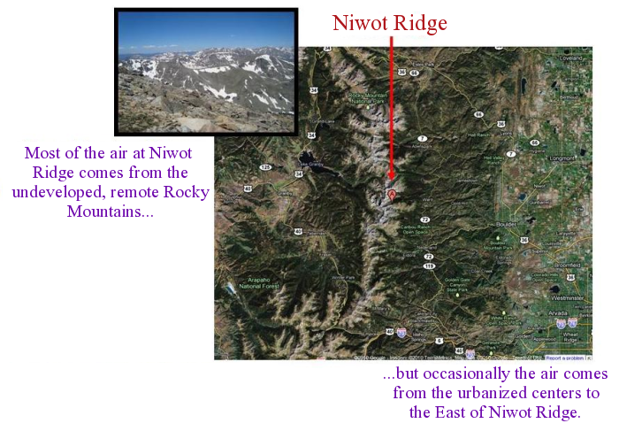 Niwot Colorado Map.Esrl Global Monitoring Division Global Greenhouse Gas Reference