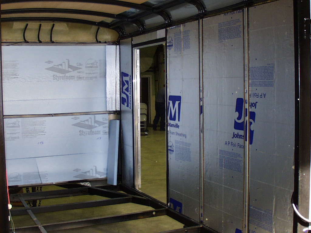 Photo Of Trailer Interior Insulation