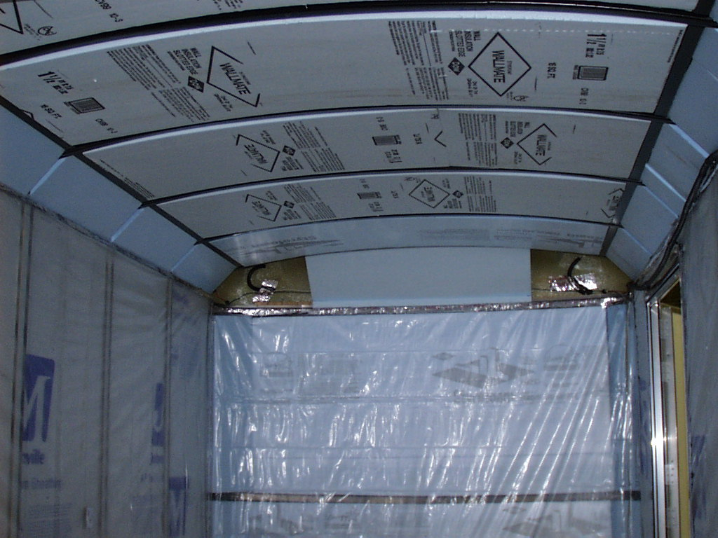 Photo Of Interior Ceiling Insulation