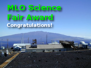 MLO Science Fair Awards