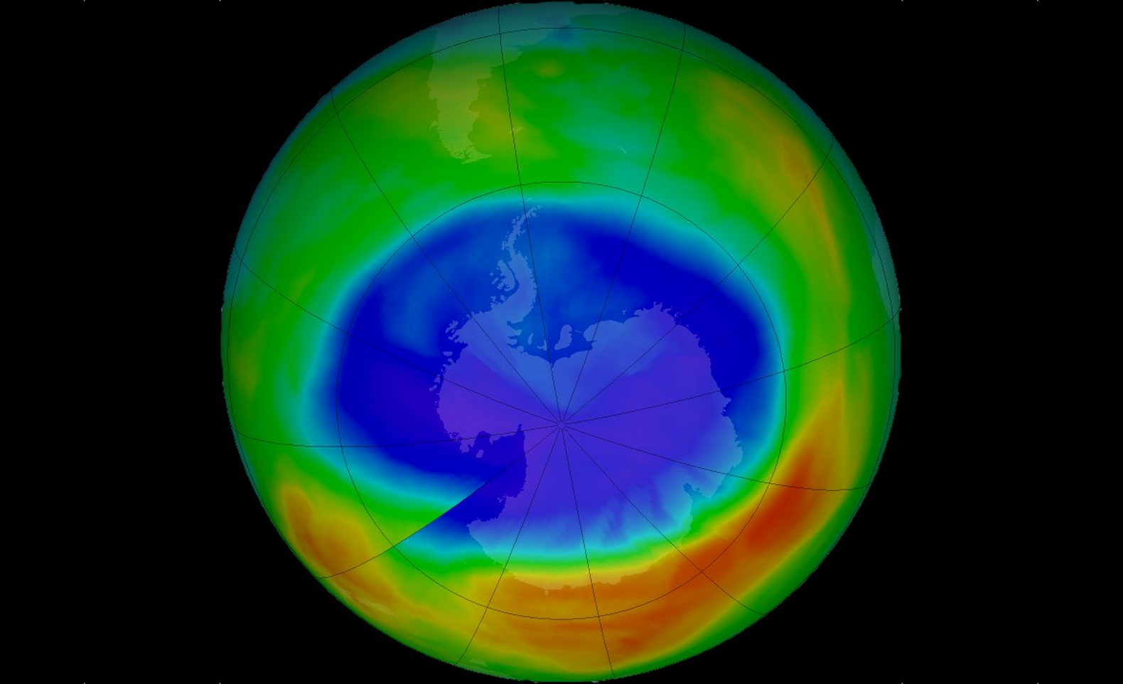 ozone and water vapor