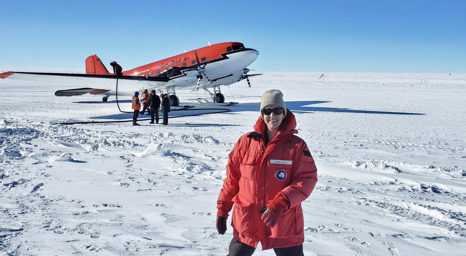 "Women's History Month: A conversation with NOAA Corps Officer LTJG Marisa about her 13 months ""on the ice"""