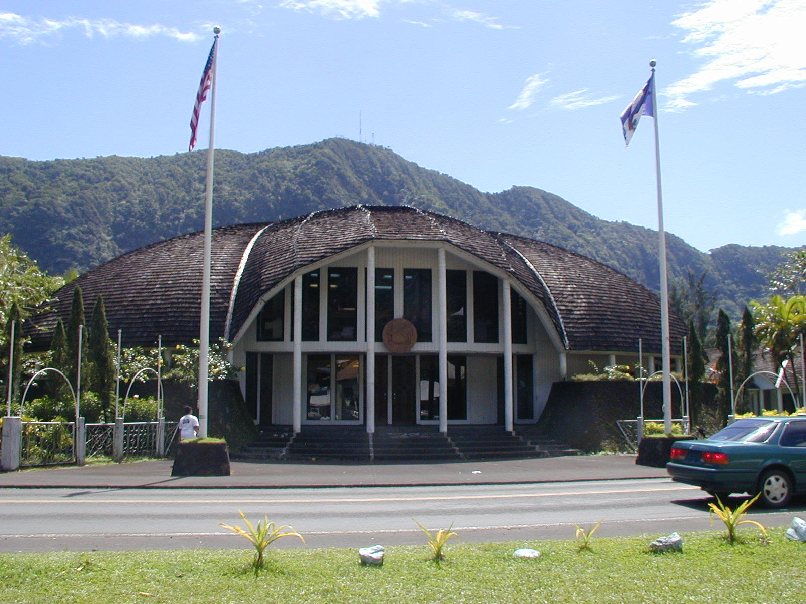 Esrl global monitoring division american samoa observatory for American builders