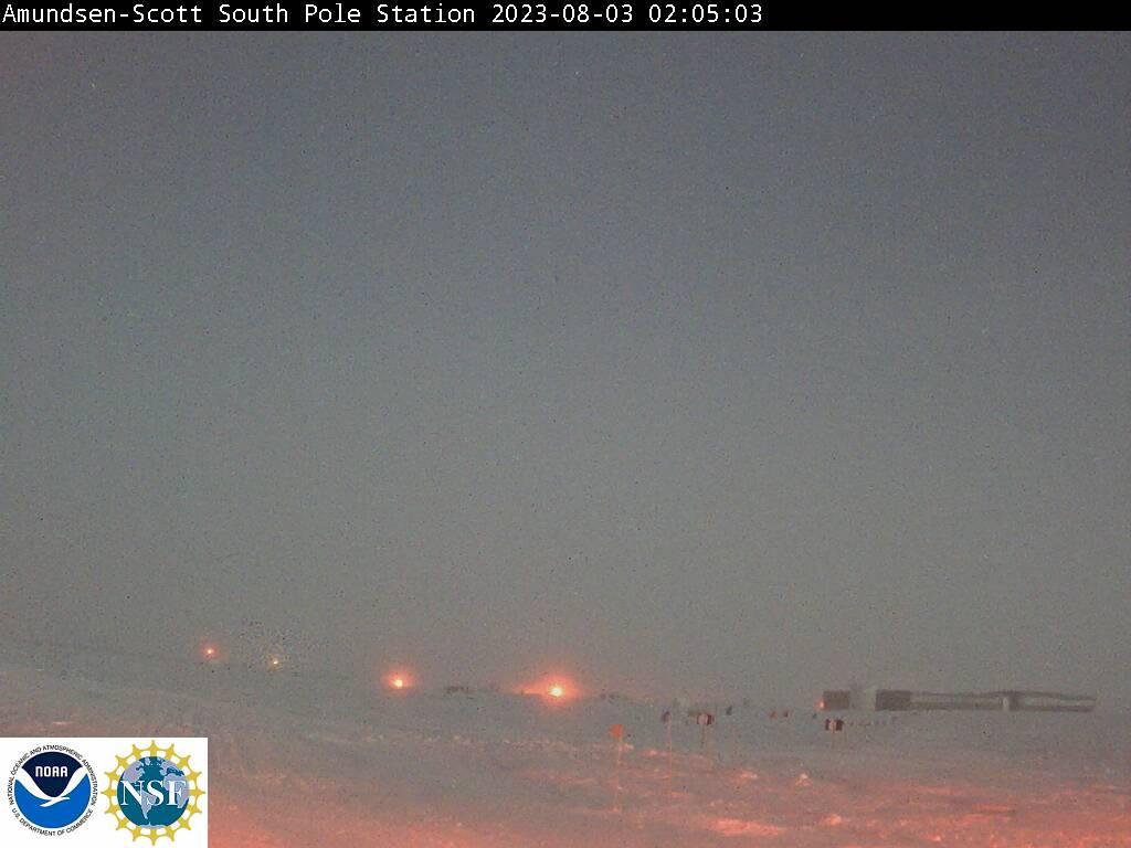 Antarctic station Amundsen-Scott Live Cam, Antarctica
